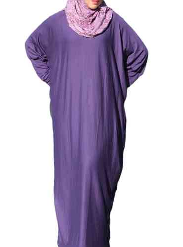 Abaya Dress Lina Dark Purple