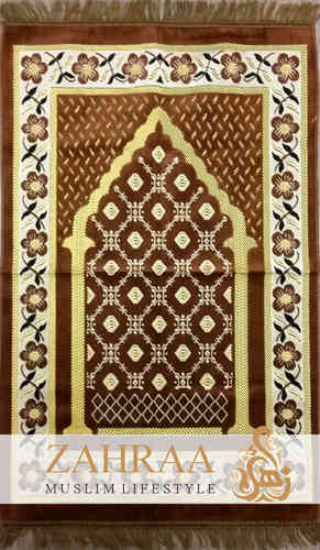 Prayer Mat Brown I