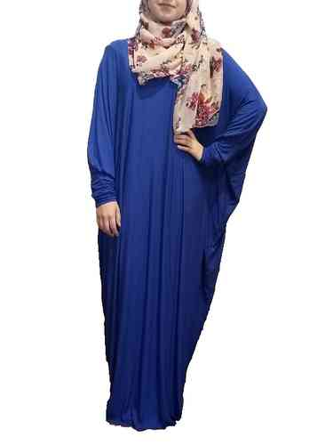 Abaya Dress Lina Royal Blue