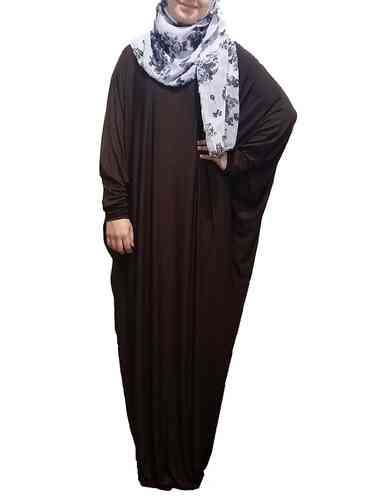 Abaya Dress Lina Chocolate