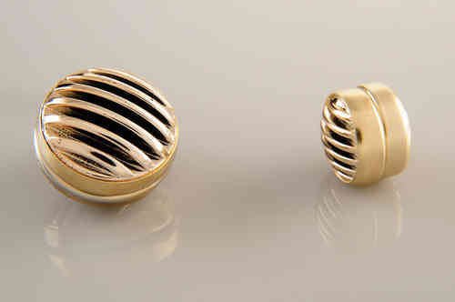 Magnet Set Stripes Gold