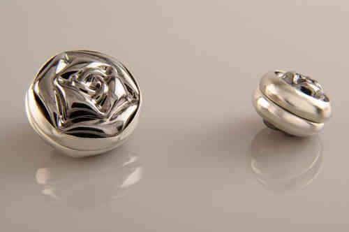 Magnet Set Rose Silber