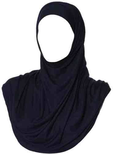 Maxi Jersey Hijab Midnight Blue