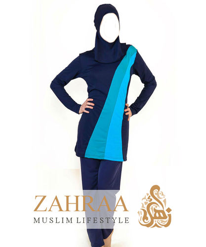 Burkini Stripes Navy