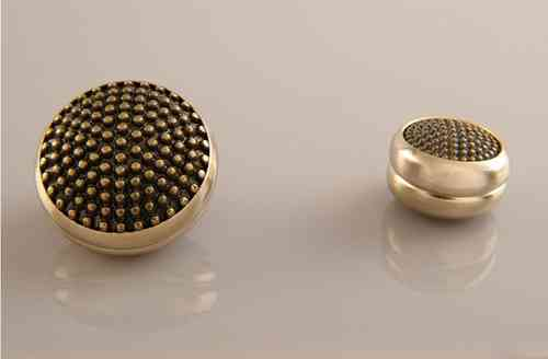 Magnet Set Igel Bronze Gold