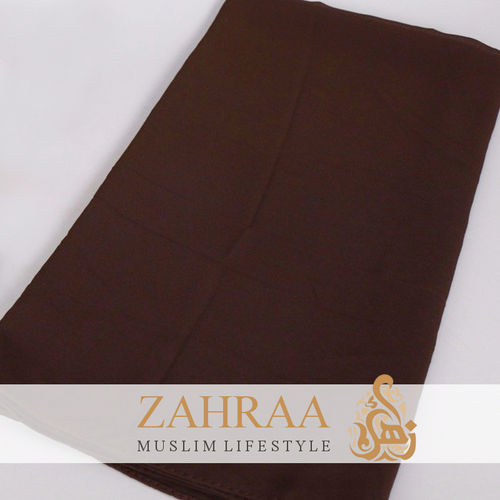 Shawl Chiffon Dark Brown