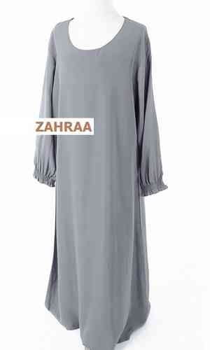 Abaya Girls Grey