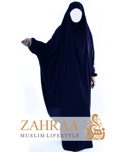Jilbab Maryam Blue (Khimar & Skirt)
