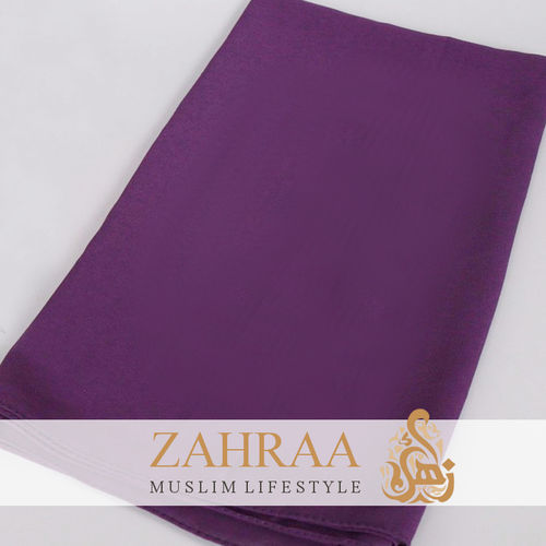 Shawl Chiffon Purple
