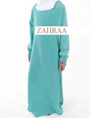 Abaya Girls Mint Green