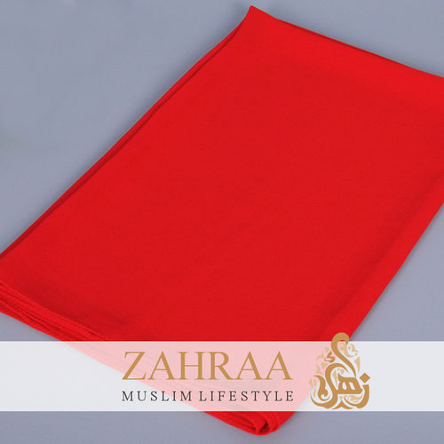 Shawl Chiffon Light Red