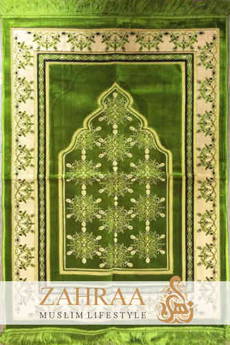 Prayer Mat Green I
