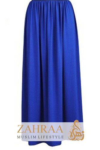 Maxi Rock Selma Royalblau