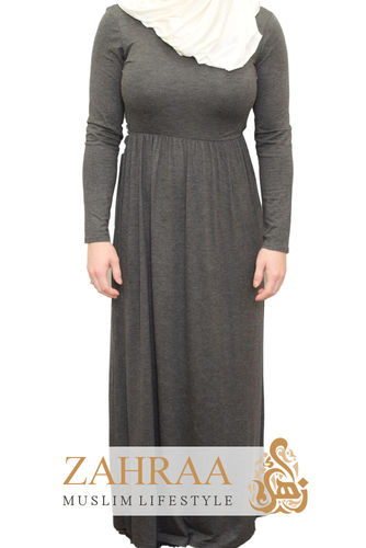 Maxi Dress Sally Flecked Gray
