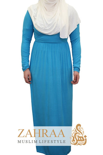 Maxi Dress Sally Aqua