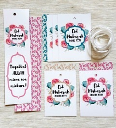 EID Gift Cards 10 Pieces