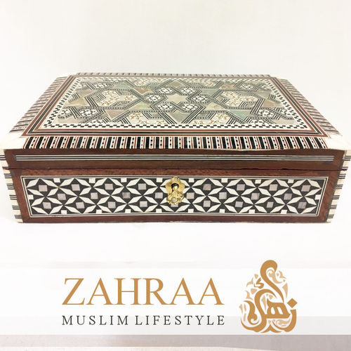 Wooden Box Oriental Rectangular XL