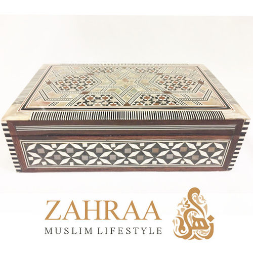 Wooden Box Oriental Rectangular L