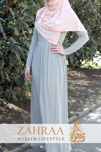 Maxi Dress Sally Light Grey
