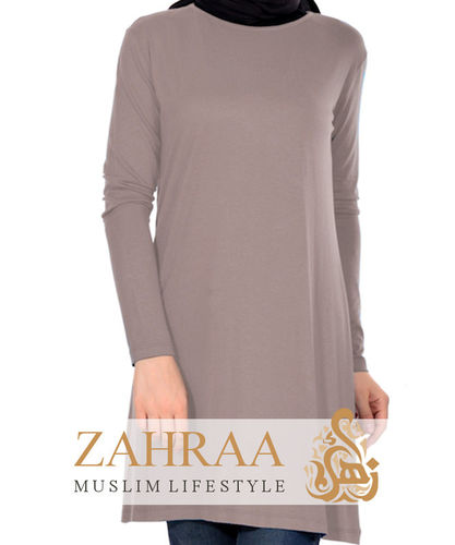 Shirt Tunika Basic Mink
