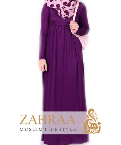 Maxi Dress Malak Girls Dark Purple