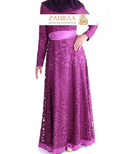 Kleid Habiba Purple Passion
