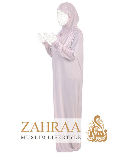 Prayer Dress Duaa 1 Piece White