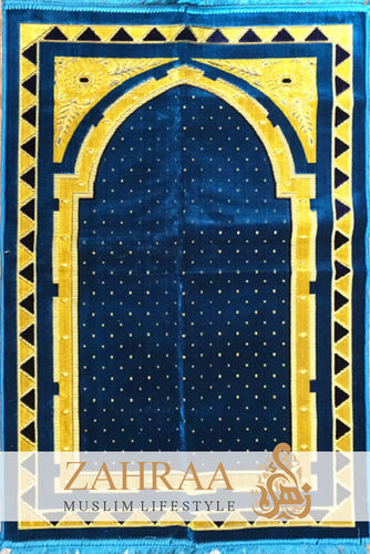 Prayer Mat Blue IV