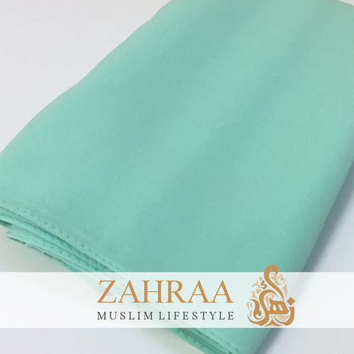Shawl Chiffon Wide Mint