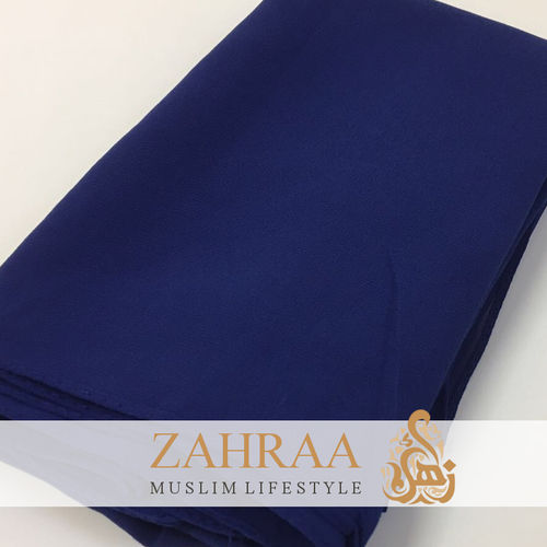 Shawl Chiffon Wide Royal