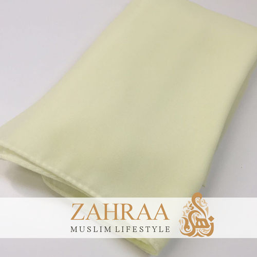 Shawl Chiffon Green Apple Very Light