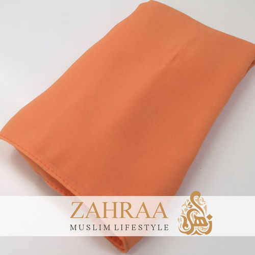 Shawl Chiffon Pastel Orange