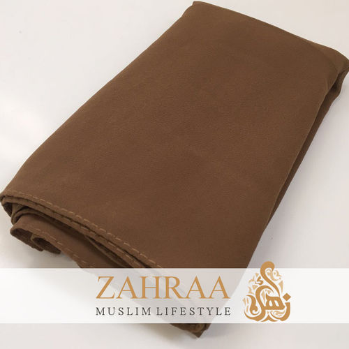 Shawl Chiffon Chocolate