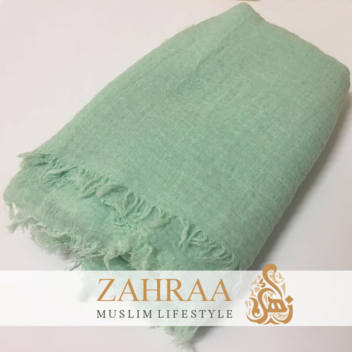 Crinkle Shawl Maxi Light Mint