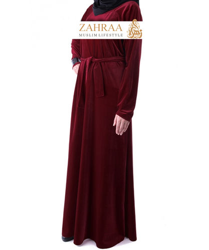 Dress Madaniyah Dark Red