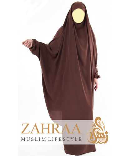 Jilbab Maryam Brown (Khimar & Skirt)