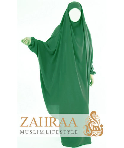Jilbab Maryam Emerald (Khimar & Skirt)