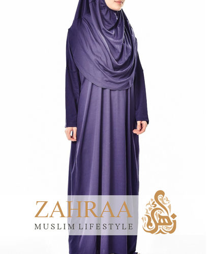 Prayer Dress Sadiqa Blue