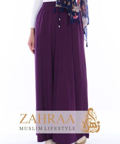 Maxi Skirt Sara Dark Purple