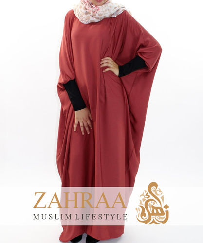 Abaya Abeela Red Earth