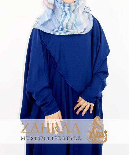 Abaya Aqila Royal Blue