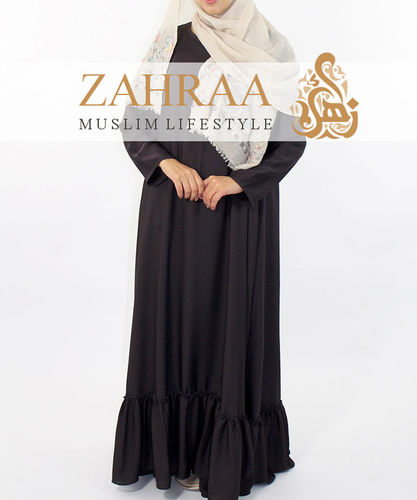 Abaya Ayla Dark Brown
