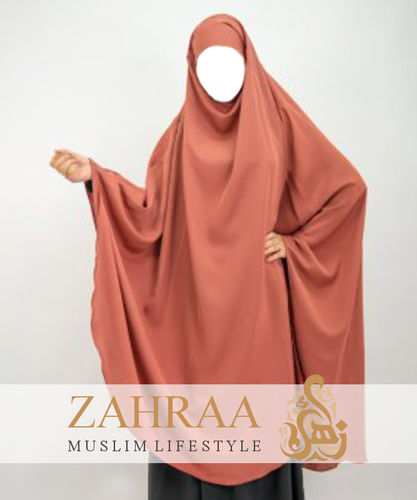 Khimar Adeena Red Earth (only Khimar)