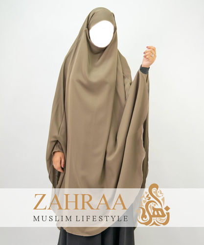 Khimar Adeena Taupe (only Khimar)