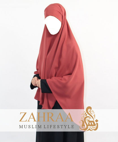 Khimar Asude Red Earth (only Khimar)