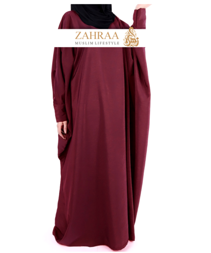 Abaya Farasha Dark Red