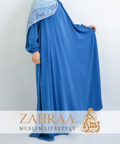 Abaya Dress Assira Jeans Blue