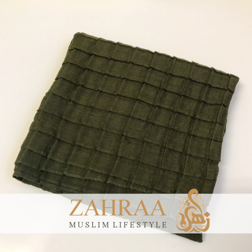 Shawl Squares Olive Green