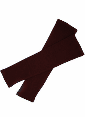 Arm Sleeves Brown Short
