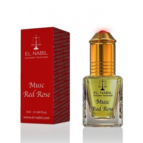 Musc Red Rose 5ml El Nabil